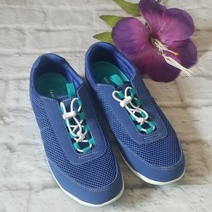 Land's End Water Women's Blue  Shoes Size 8.5
